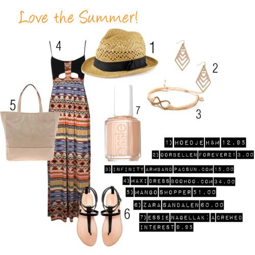 3 Outfits voor de zomer!
