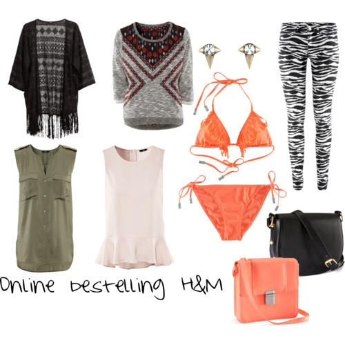 Online bestelling bij H&M