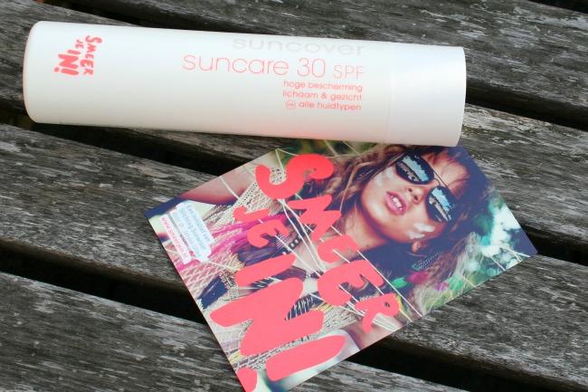 Suncover Suncare SPF30: Smeer je in!