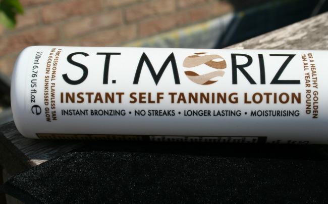 Filmpje: Review + How to St. Moriz zelfbruiningslotion