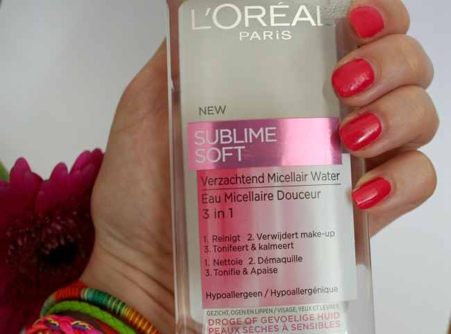L'oreal Sublime Soft Micellair Water