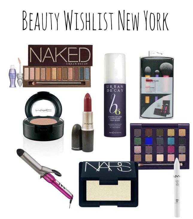 Beauty & Fashion Wishlist New York
