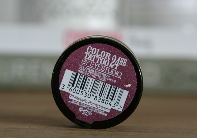 Tip: Maybelline Color Tattoo