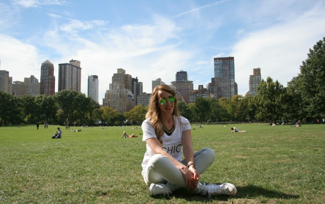 Outfit: A Sunny Day in Central Park