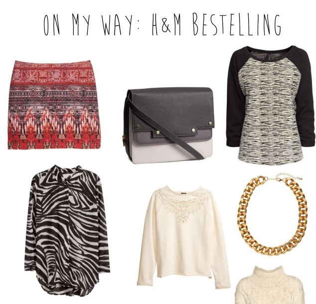 On My Way: H&M Bestelling