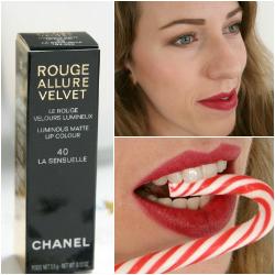 "Chanel Rouge Allure Velvet ""La Sensuelle"" Lipstick"