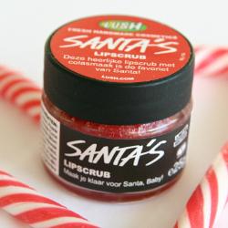 Lush – Santa's Lipscrub