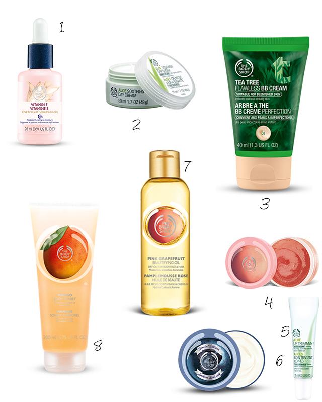 Wishlist The Body Shop + Kortingscode!