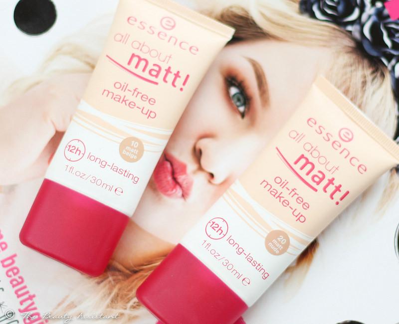 Essence All About Matt Long Lasting Foundation
