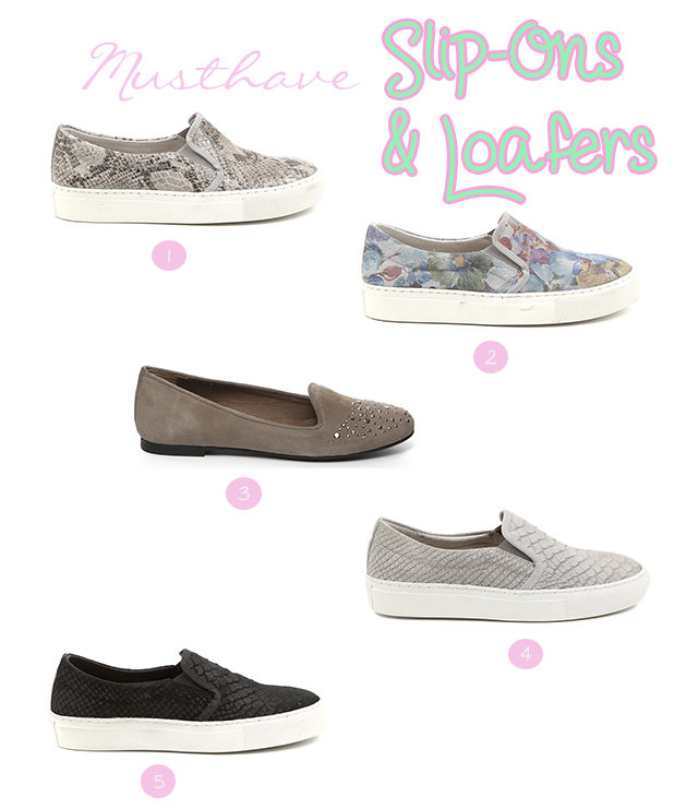 Musthave: Slip-Ons & Loafers