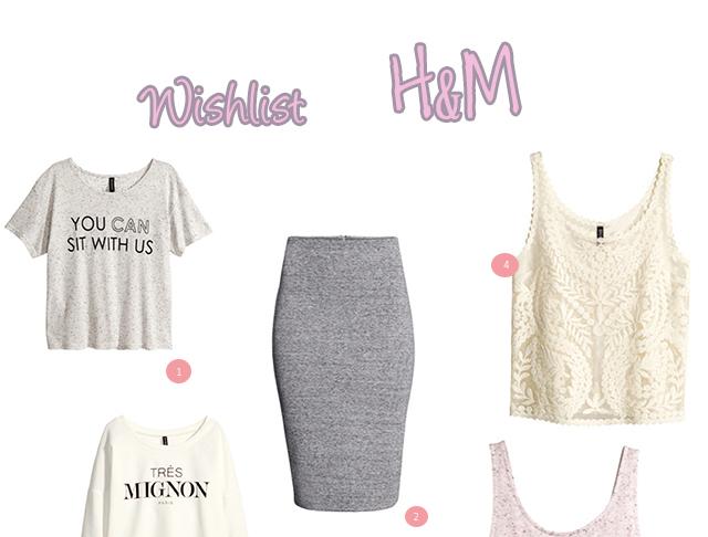 Wishlist H&M