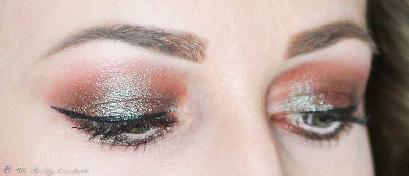 Make-up of the day: Blue Brown