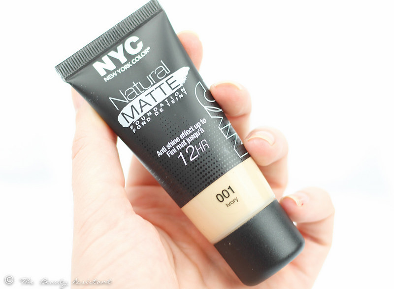 NYC Natural Matte Foundation