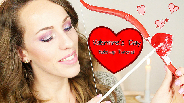 Valentine's Day Make-up Tutorial!