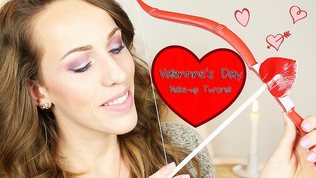 Valentine's Day Make-up Tutorial!