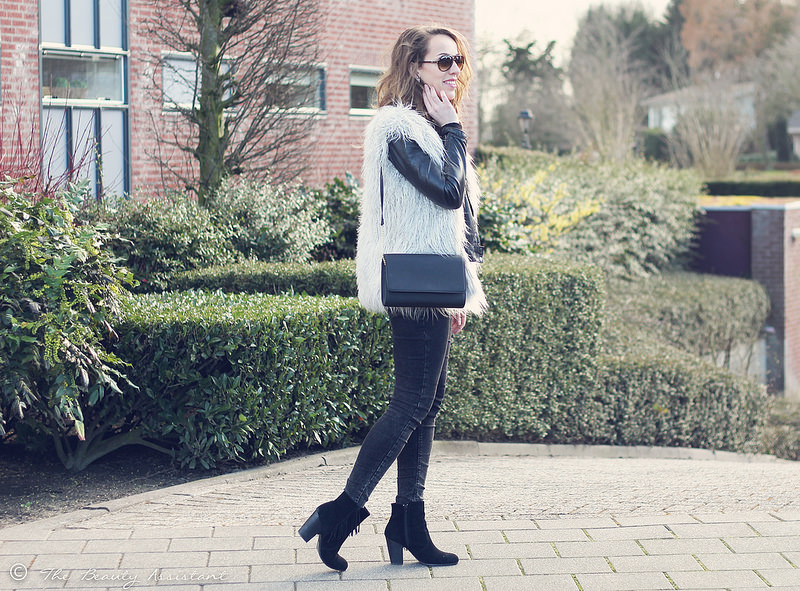 Outfit: Fluffy Gilet