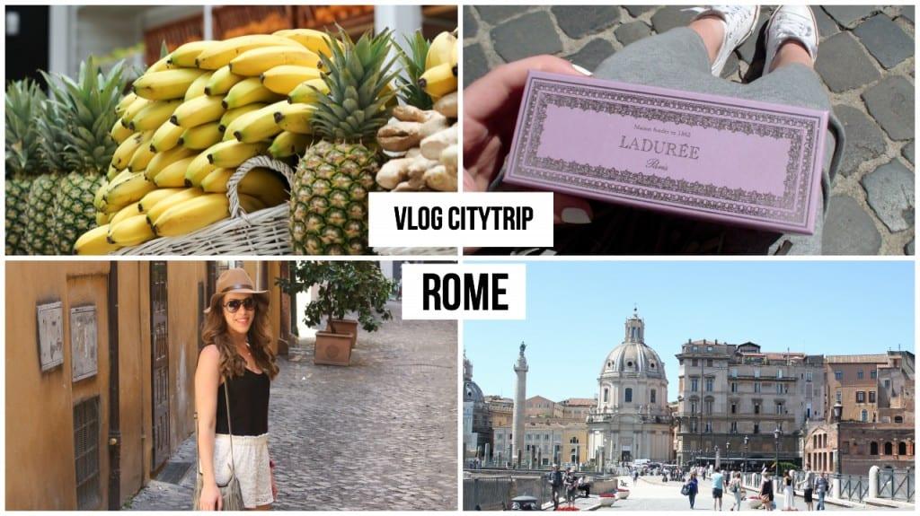 Vlog: Citytrip Rome!