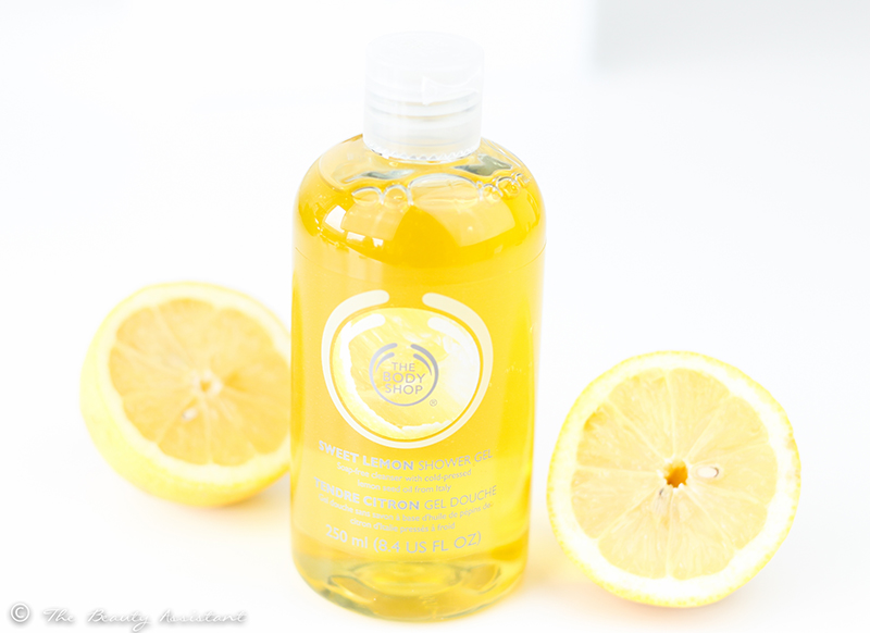 The Body Shop Sweet Lemon Shower Gel