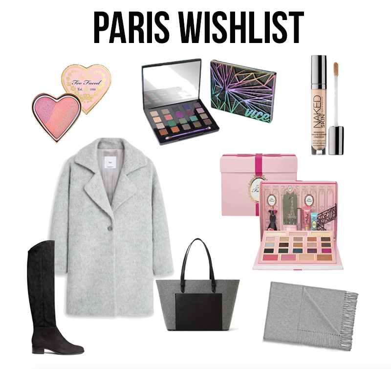 Paris Wishlist