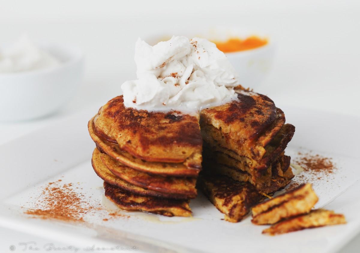 Recept: Spicy Pumpkin Pancakes