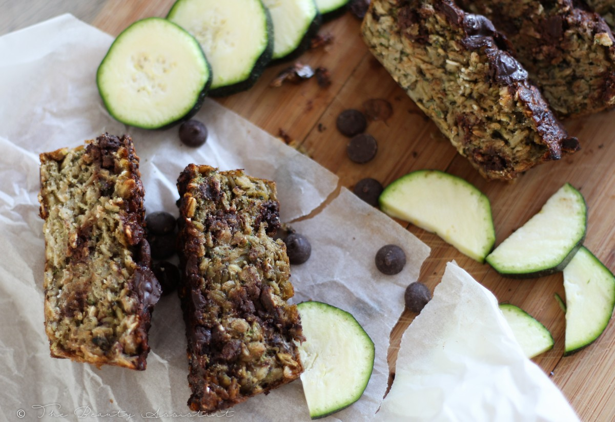 Recept: Courgette Chocoladebrood
