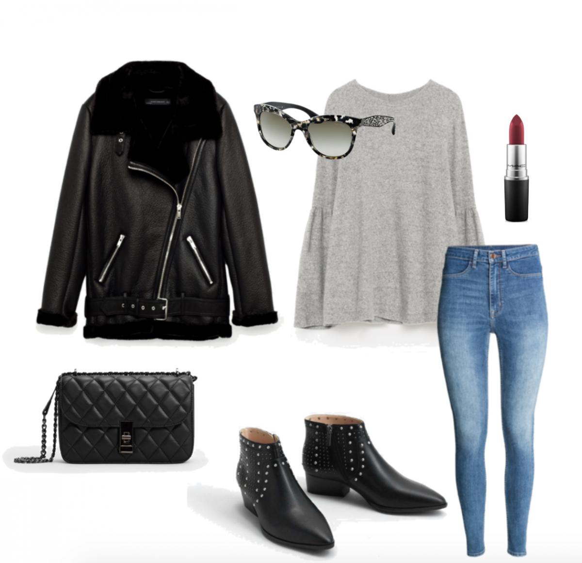 3x Winter Outfits met Grijs en Zwart