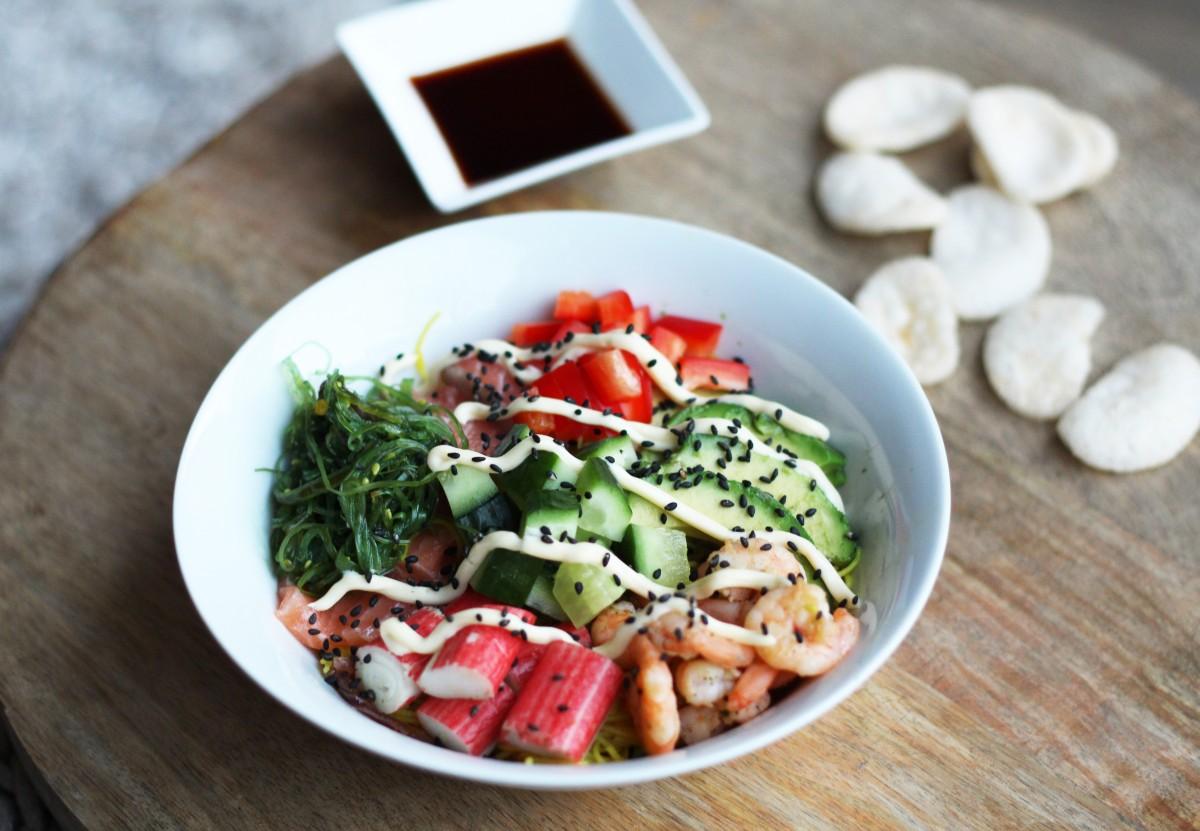 Recept: Sushi Bowl