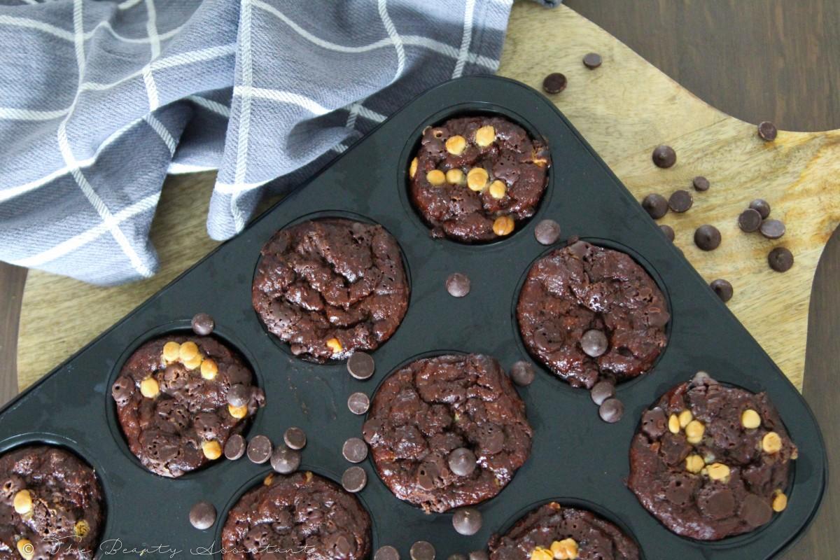 Recept: Chocolade Muffins met Griekse Yoghurt