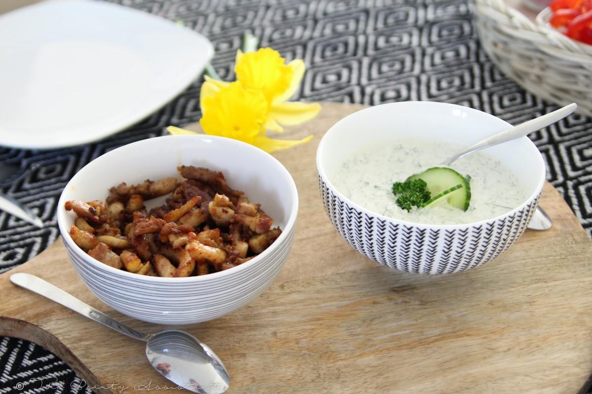 Recept: Pita Gyros met zelfgemaakte Tzatziki