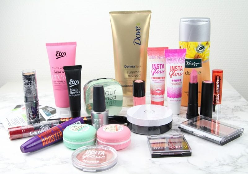 WIN een beauty pakket t.w.v. €75,-