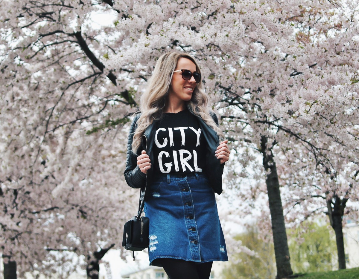 Outfit: Bloesems in Stockholm