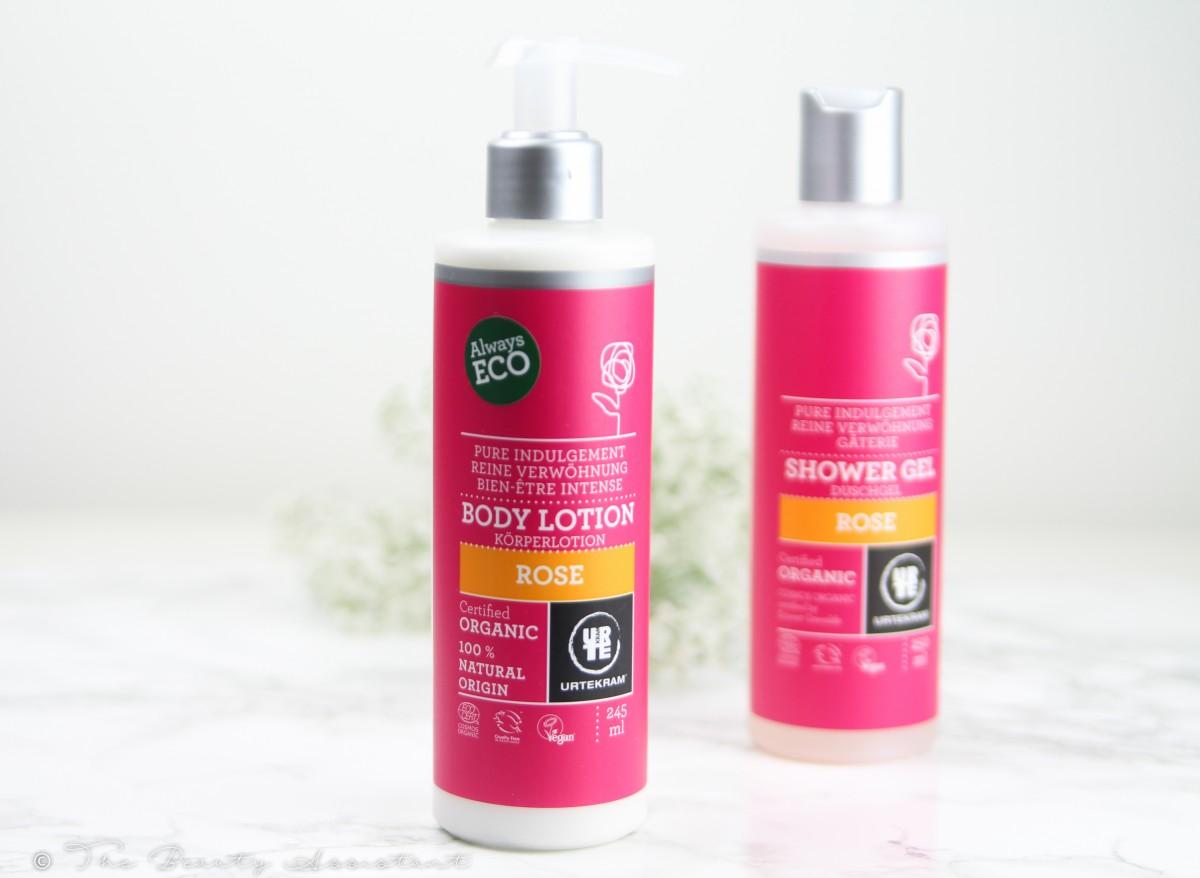 urtekram organic rose body care