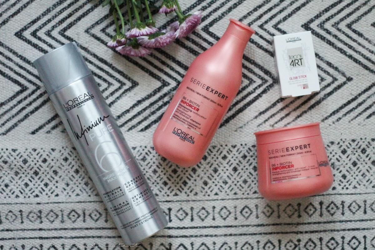 Nieuwe L'Oreal Haarverzorgingsproducten + Hair Fashion Night!