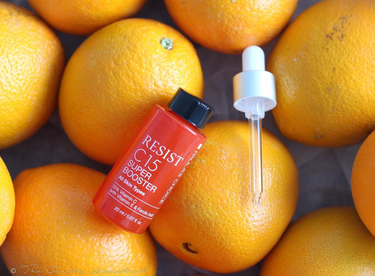 De nieuwe Vitamine C15 Super Booster van Paula's Choice