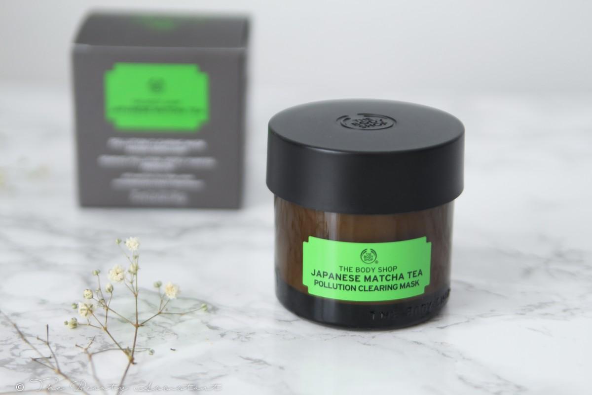 The Body Shop Japanese Matcha Tea Clearing Mask