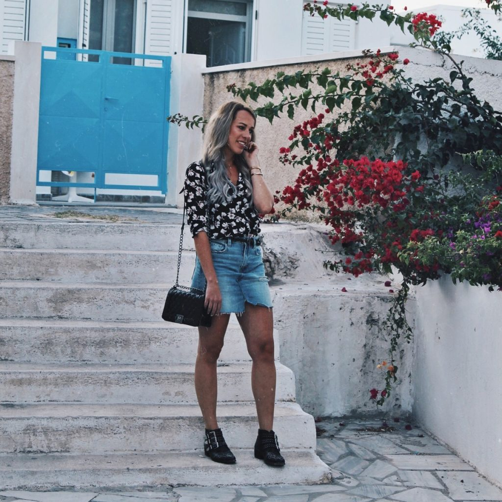 Outfit: Summer Nights in Santorini