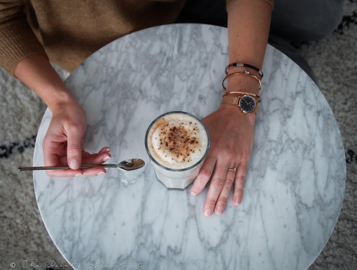 herfst chai latte
