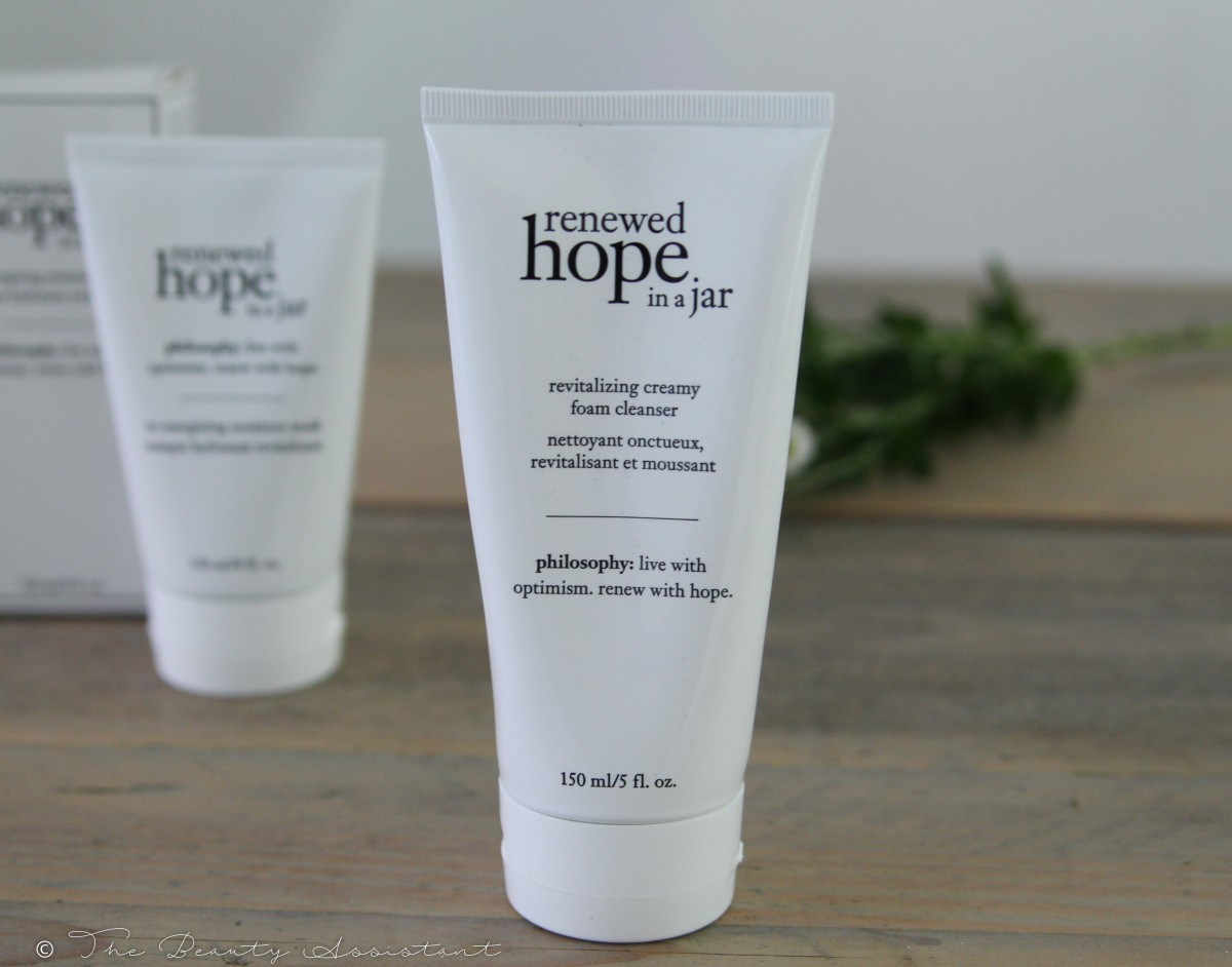 �ล�าร���หารู��า�สำหรั� philosophy renewed hope in a jar revitalizing creamy foam cleanser