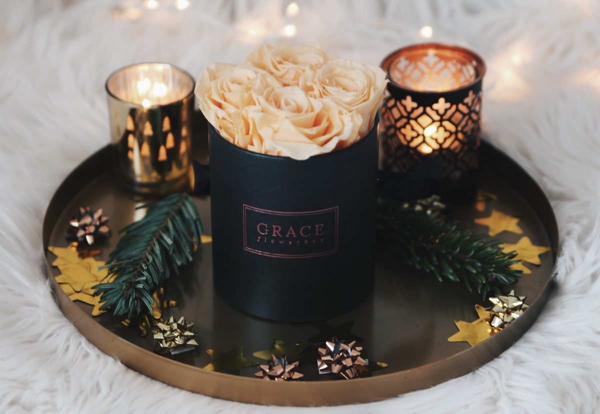 mooie rozen van grace flowerbox the beauty assistant. Black Bedroom Furniture Sets. Home Design Ideas