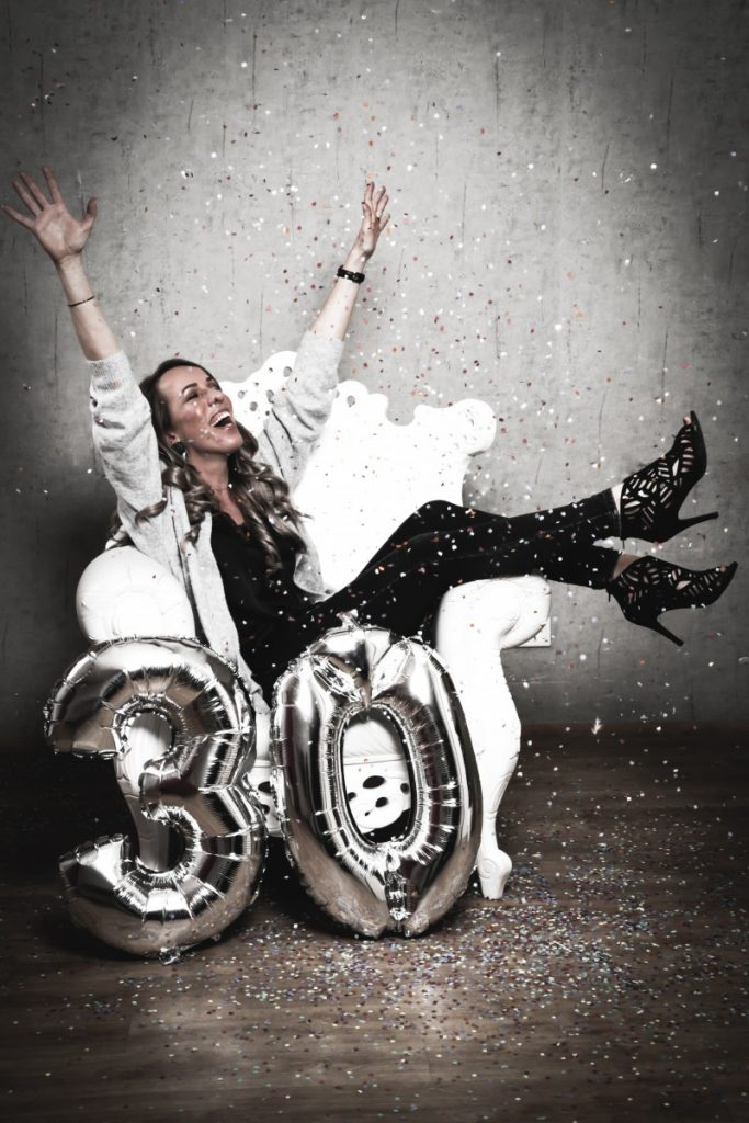 Happy 30 Bday + WIN EEN FOTOSHOOT T.W.V. €250,-