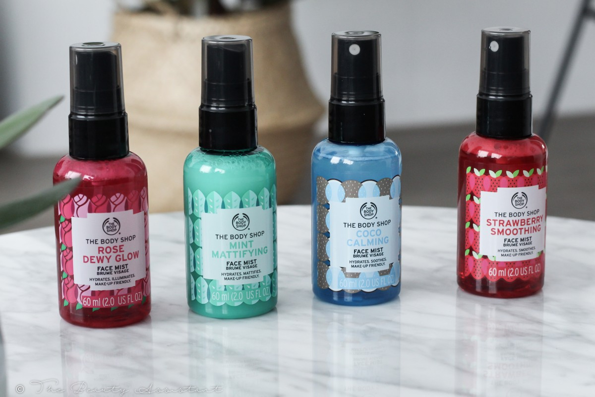 The Body Shop Nieuwe Face Mists