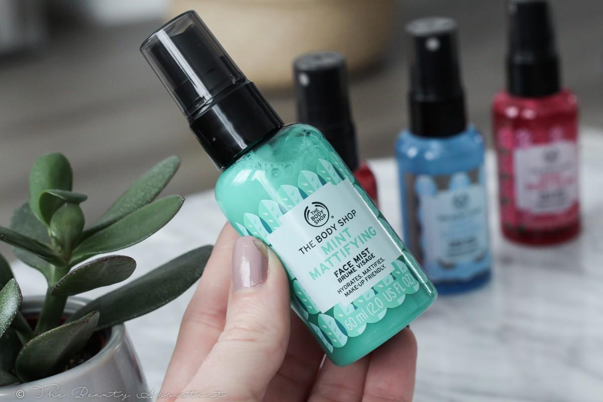 The Body Shop Nieuwe Face Mists
