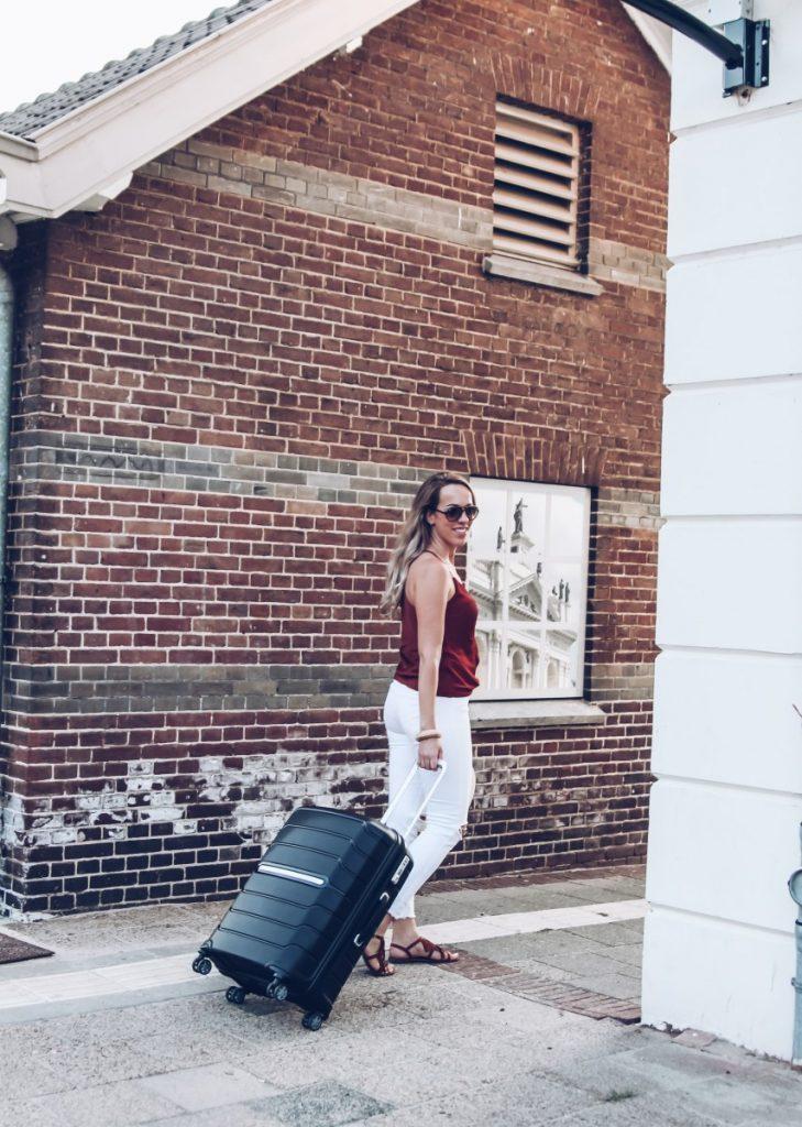 Op vakantie met mijn nieuwe koffer