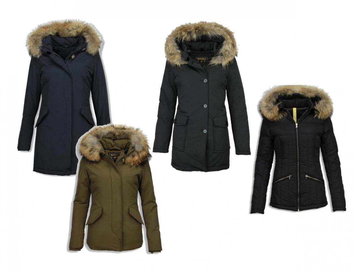 Warme winterjassen van Style Italy