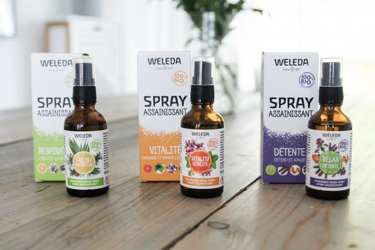 Weleda Zuiverende Room Sprays