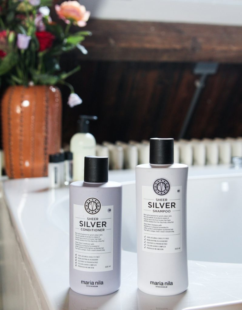 Maria Nila Silver Shampoo & Conditioner