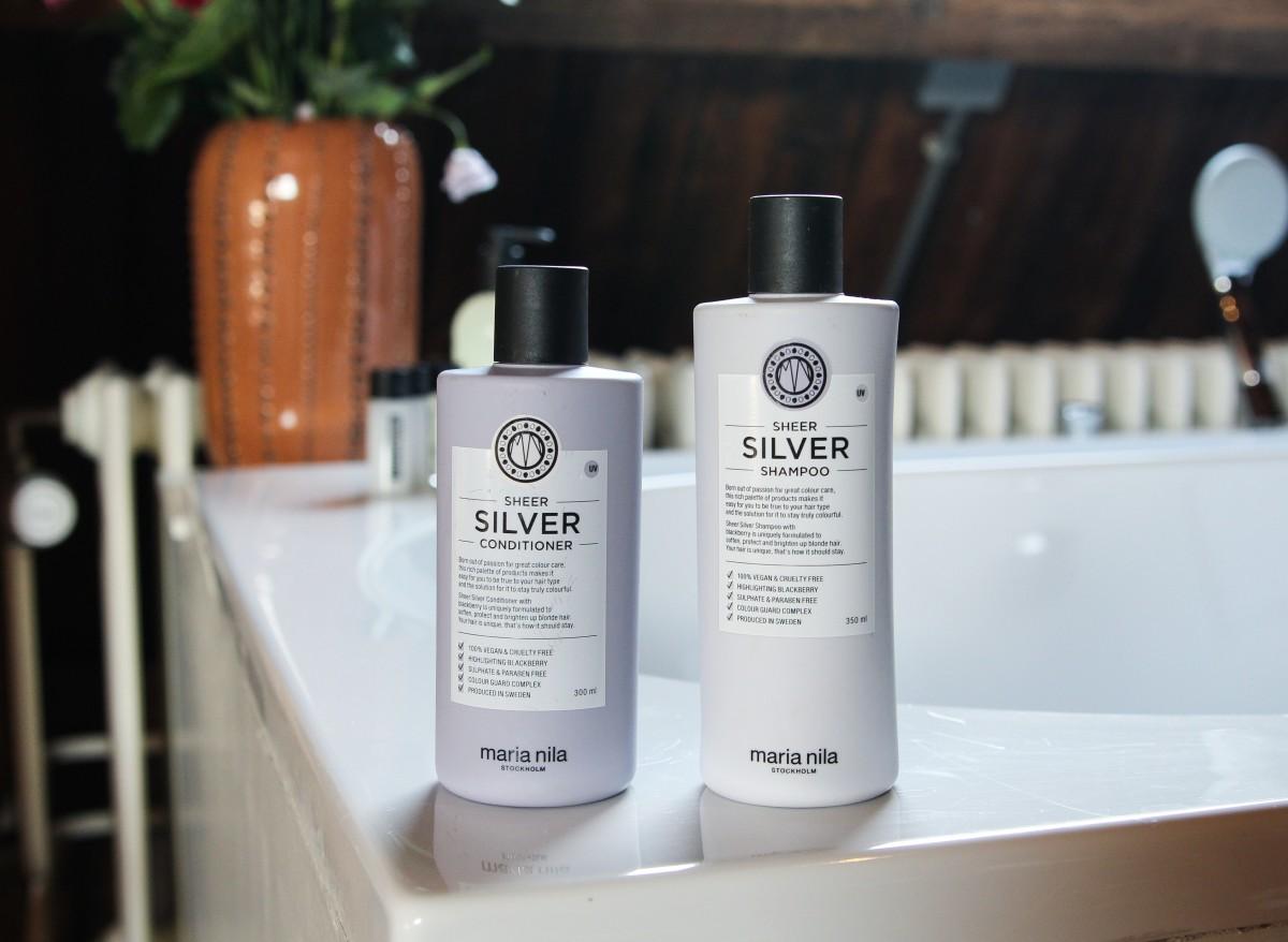 Maria Nila Silver Shampoo & Conditioner