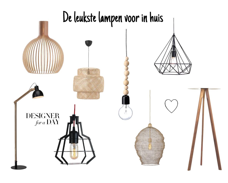 De leukste lampen voor in huis