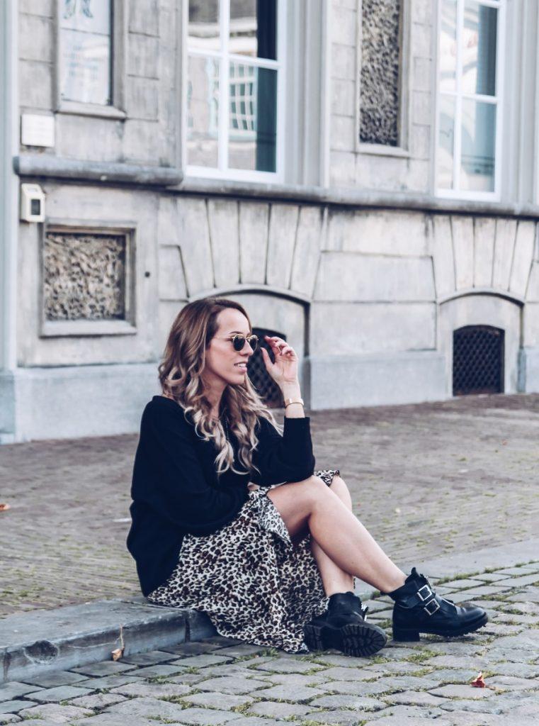 Outfit: Favoriete leopard rok