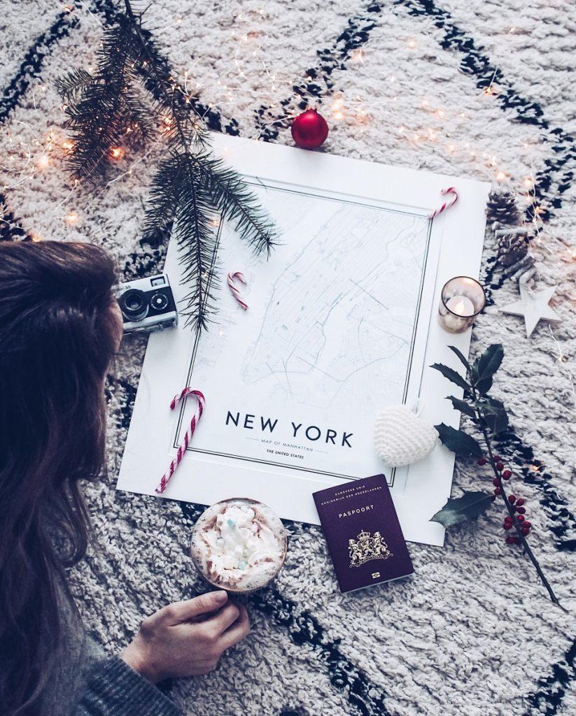 hoe ik mijn reis naar New York voorbereid
